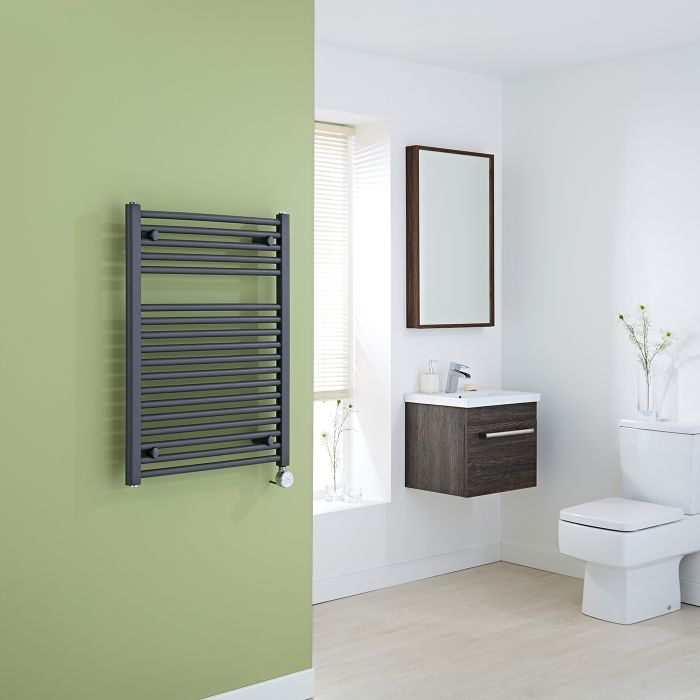 Milano Brook Electric Anthracite Flat