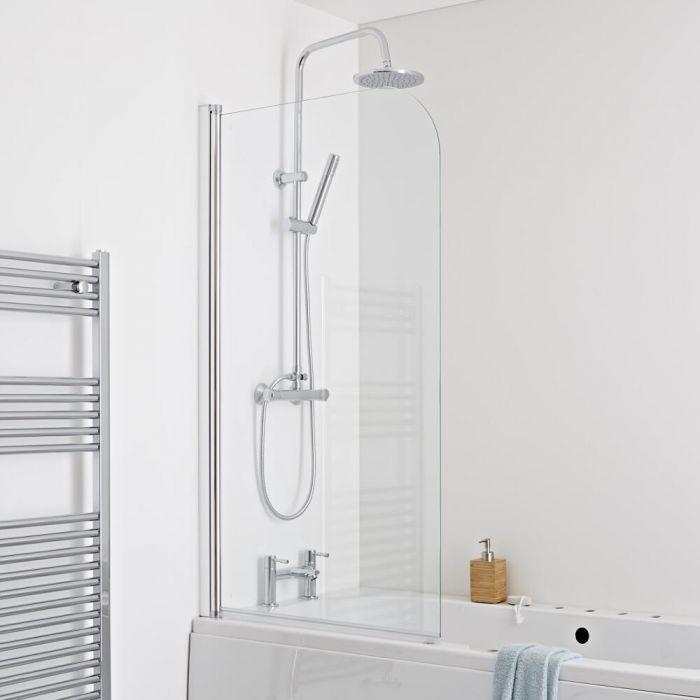 Milano Portland Single Bath Shower Screen