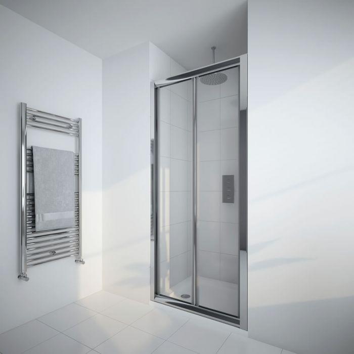 Milano Portland 900mm Bi-Fold Shower Door