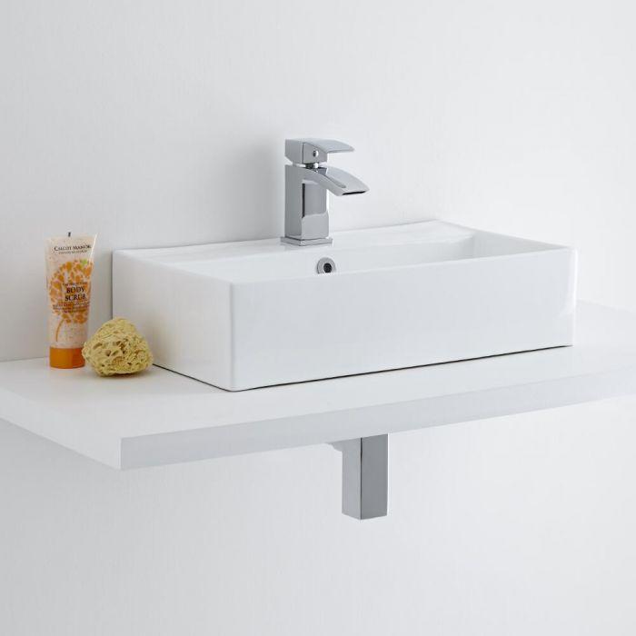 Milano Dalton - Ceramic Countertop Basin 550 x 315mm