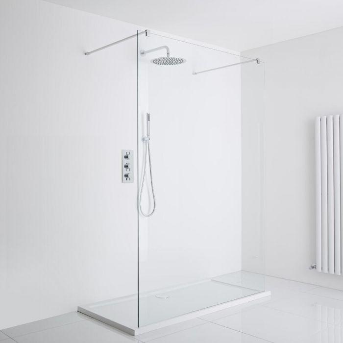 Milano Walk-In Shower Enclosure (1000 x 800mm) - Inc. Tray