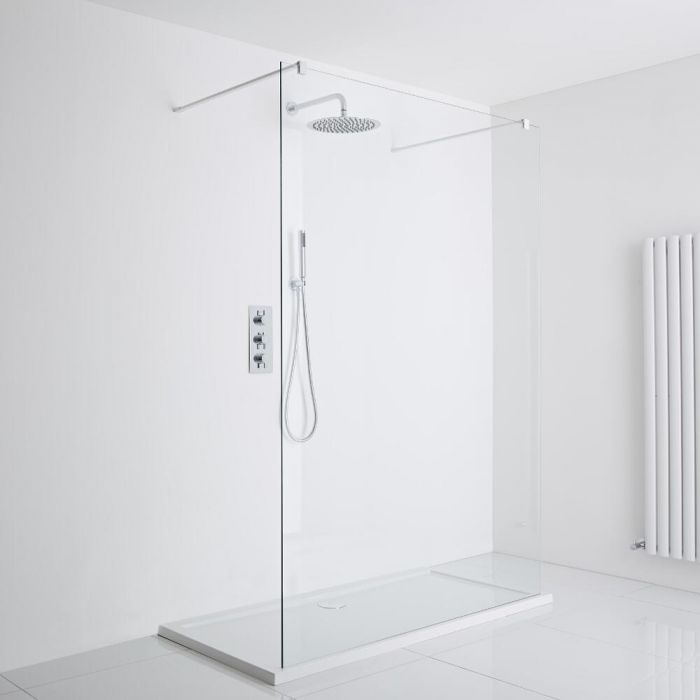 Milano Walk-In Shower Enclosure (1000 x 800mm)