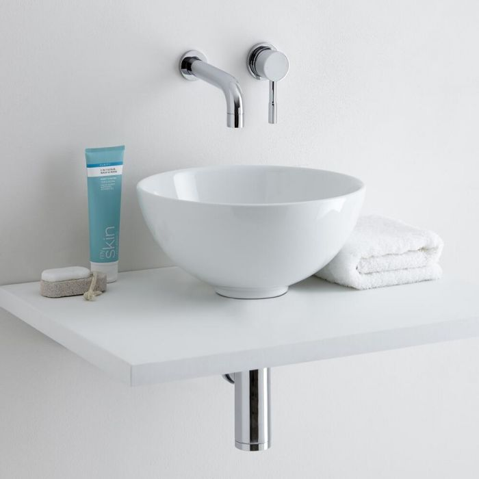 Milano Irwell 320mm Countertop Basin with Tap