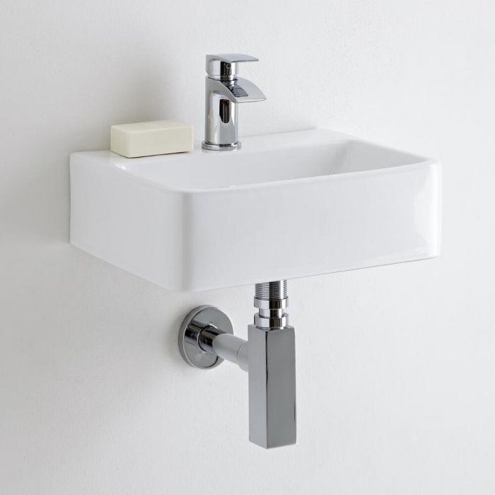 Milano Farington - Ceramic Wall Hung Basin 400 x 295mm