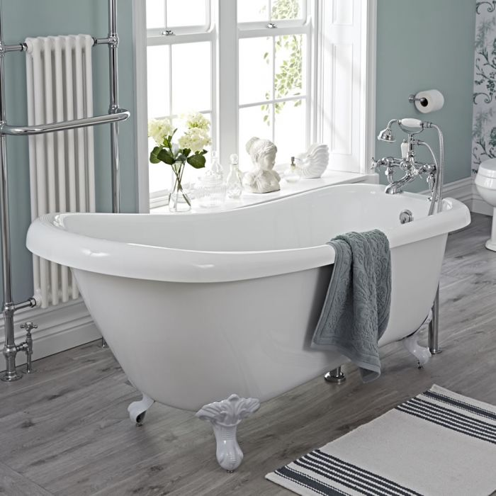 Milano Freestanding Slipper Bath