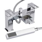 Milano Parade Chrome Bath Shower Mixer Tap