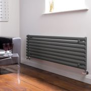 Milano Aruba - Luxury Anthracite Horizontal Designer Radiator 472mm x 1600mm
