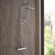 Milano Thermostatic Bar Shower Valve & Rigid Riser Kit
