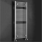 Sterling Premium Chrome Curved Heated Towel Rail 1200mm x 500mm