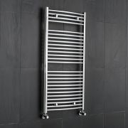 Sterling Premium Chrome Curved Heated Towel Rail 1200mm x 600mm
