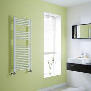 Milano Flat White Heated Towel Rail 1200mm x 500mm
