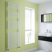 Milano Flat White Heated Towel Rail 1800mm x 600mm