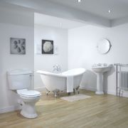 Premier Ryther Double Ended Slipper Bath Suite