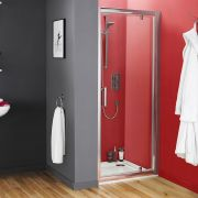 Premier Pacific Pivot Shower Door 900mm