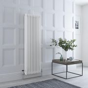 Milano Windsor - Traditional White 3 Column Radiator 1500mm x 473mm (Vertical)