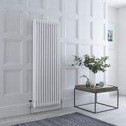 Milano Windsor - Traditional White 3 Column Radiator 1500mm x 563mm (Vertical)