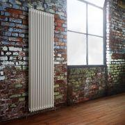 Milano Windsor - Traditional White 3 Column Radiator 1800mm x 563mm (Vertical)