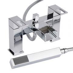 Milano Parade Chrome Bath Shower Mixer Tap