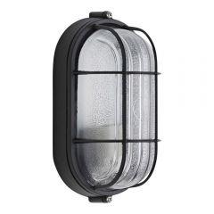 Biard IP54 Oval Bulkhead Outdoor Wall Light
