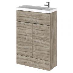 Hudson Reed Driftwood Cloakroom Vanity Unit 600mm x 235mm