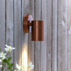 Biard Stainless Steel Wall Light - Copper