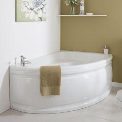 Milano 1500 x 1020mm Corner Bath Right Hand and Panel