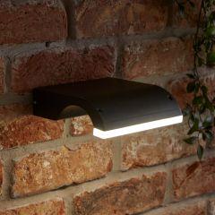 Biard Livada IP54 LED Outdoor Wall Light - Black