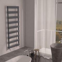 Milano Passo - Aluminium Designer Heated Towel Rail 1590 x 500mm Anthracite