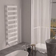 Milano Passo - Aluminium Designer Heated Towel Rail 1590 x 500mm White