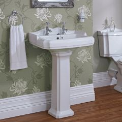 Milano Windsor Basin and Pedestal 2TH