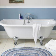 Premier 1700mm Back to Wall Freestanding Bath