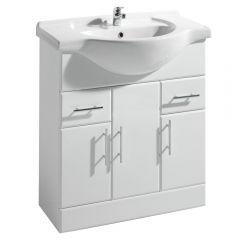 Milano 750mm Vanity Unit and Basin
