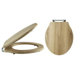 Old London Traditional Natural Walnut Chancery Toilet Seat