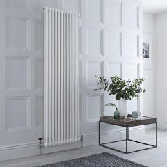 Milano Windsor - Traditional White 2 Column Radiator 1800mm x 560mm (Vertical)