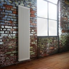 Milano Windsor - Traditional White 3 Column Radiator 1800mm x 473mm (Vertical)