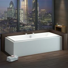 Milano Channel 1700 x 700mm Double Ended Standard Bath
