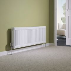 Milano Compact - Double Panel Plus Radiator - 400mm x 1200mm