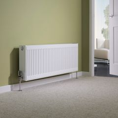 Milano Compact - Double Panel Radiator - 400mm x 1200mm