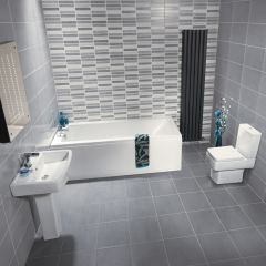 Milano Jewel 1500mm Small Bathroom Suite