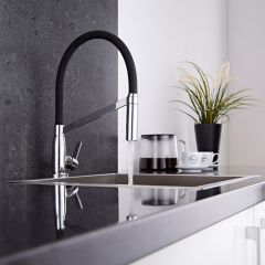 Milano Modern Monobloc Kitchen Sink Mixer Tap