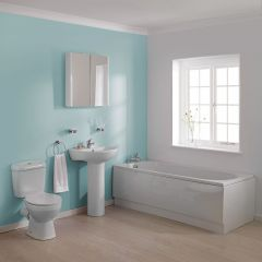 Premier Melbourne 1700mm Straight Bathroom Suite