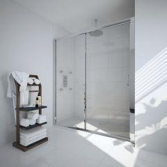 Milano Portland 1500mm Sliding Shower Door 6mm