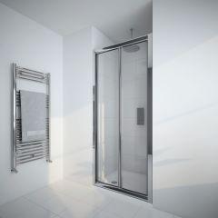 Milano Portland 800mm Bi-Fold Shower Door