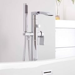 Milano Razor Freestanding Bath Shower Mixer Tap