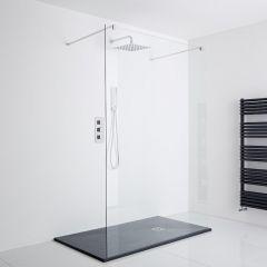 Milano Shower Enclosure (1200 x 800mm) - Inc. Slate Tray
