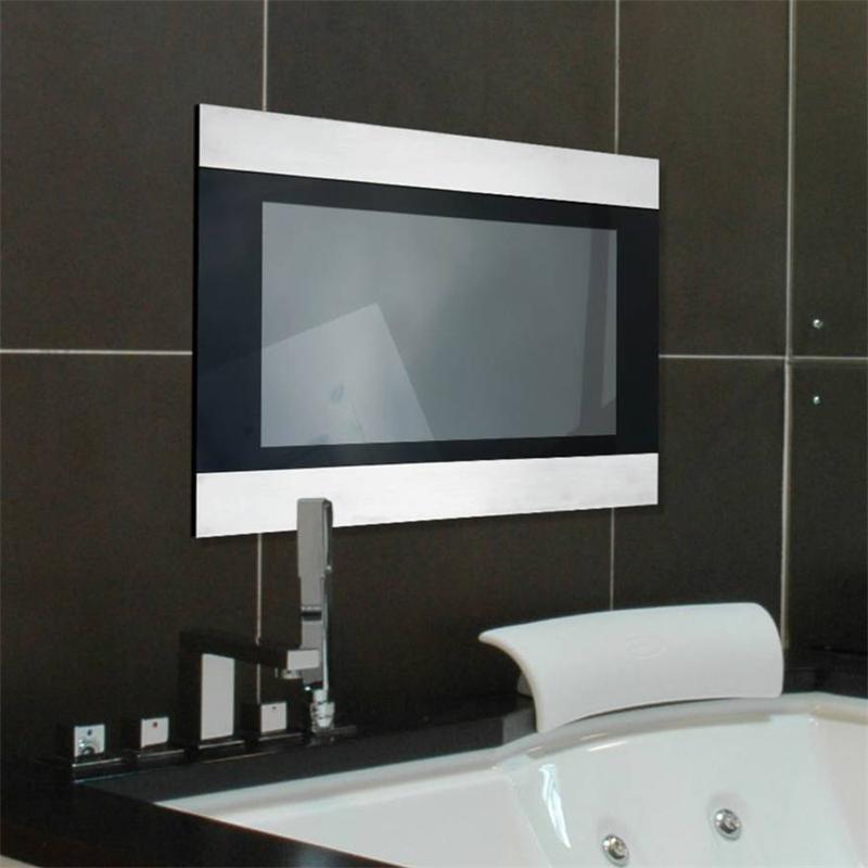 techvision-infiniti-17-inch-tv-clear-glass-finish - Big Bathroom Shop