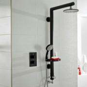 Ultra black shower kit