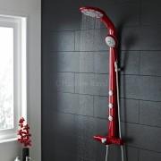 red shower