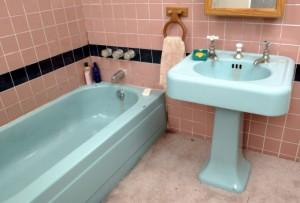 Coloured Bathroom Suite