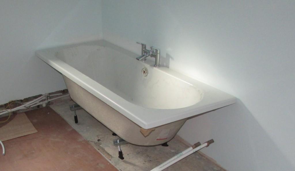 Bathroom renovation work in progress part